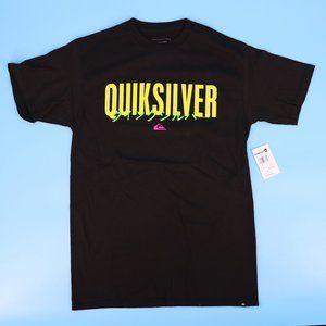 Quiksilver STM Simple Logo Black T-Shirt